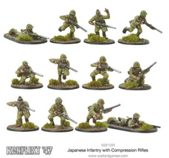 Japanese Infantry with Compression Rifles | Mythicos