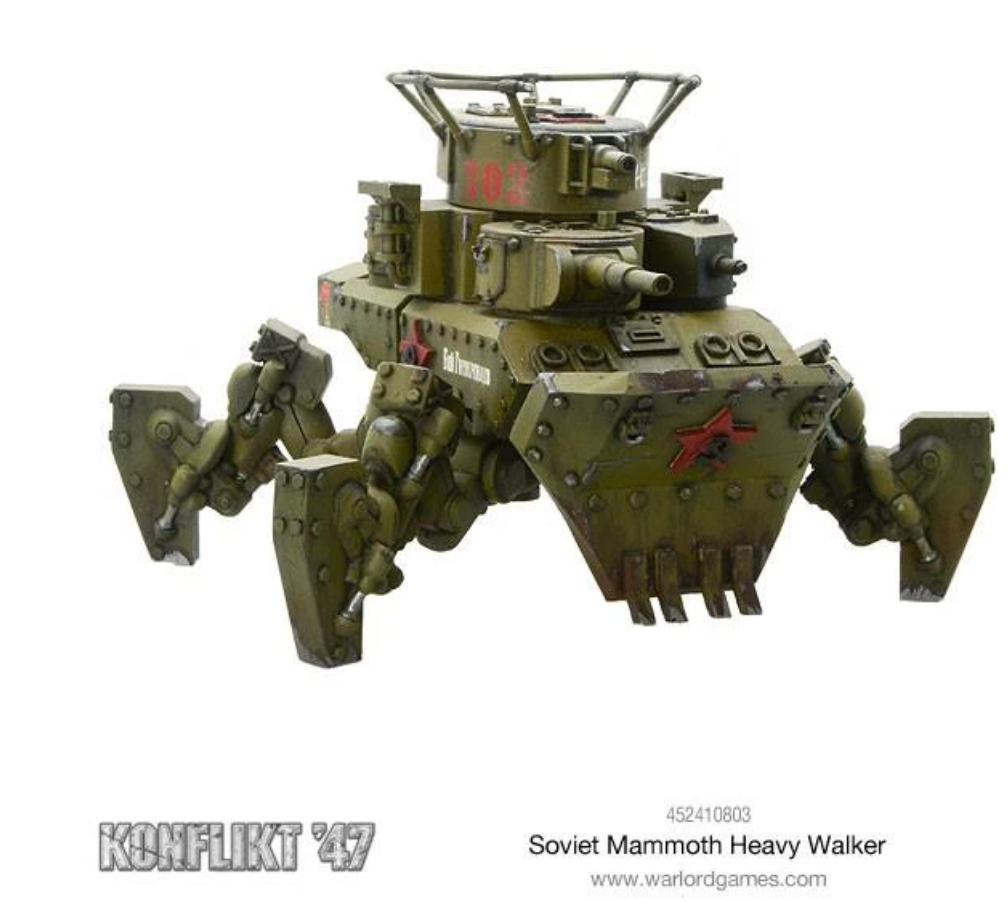 Mammoth Heavy Walker | Mythicos