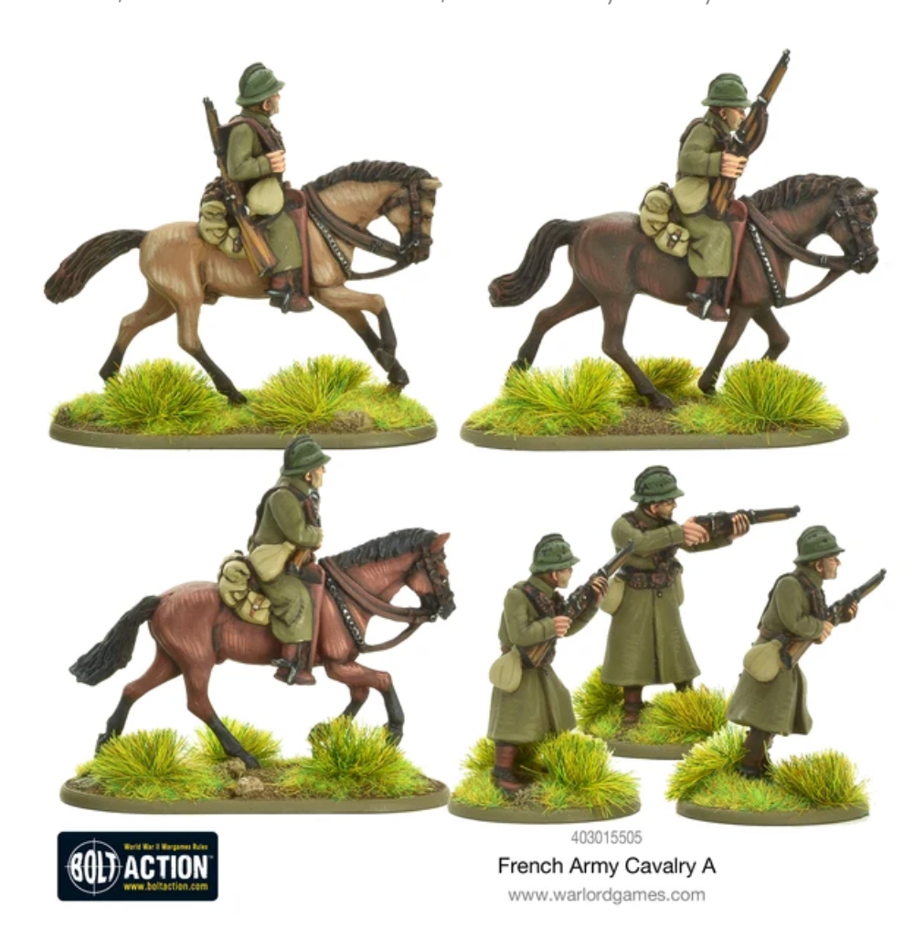 French Army Cavalry A | Mythicos