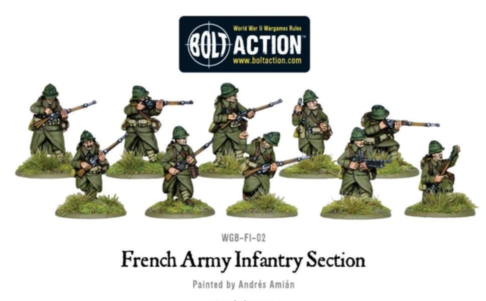 French Army Infantry Section | Mythicos