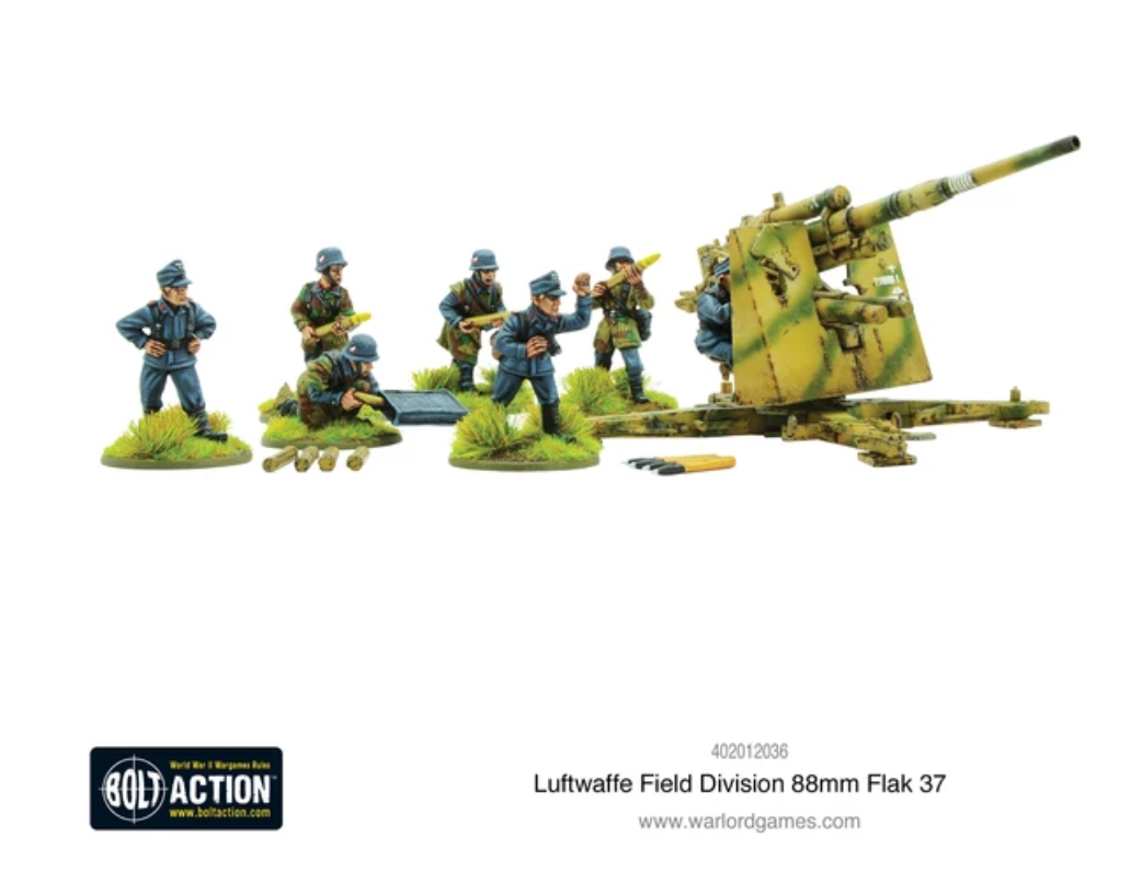 Luftwaffe Field Division 88mm Flak 37 | Mythicos