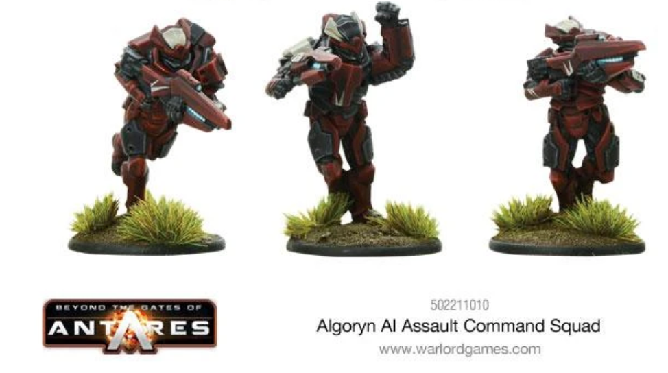 Algoryn Assault Command | Mythicos