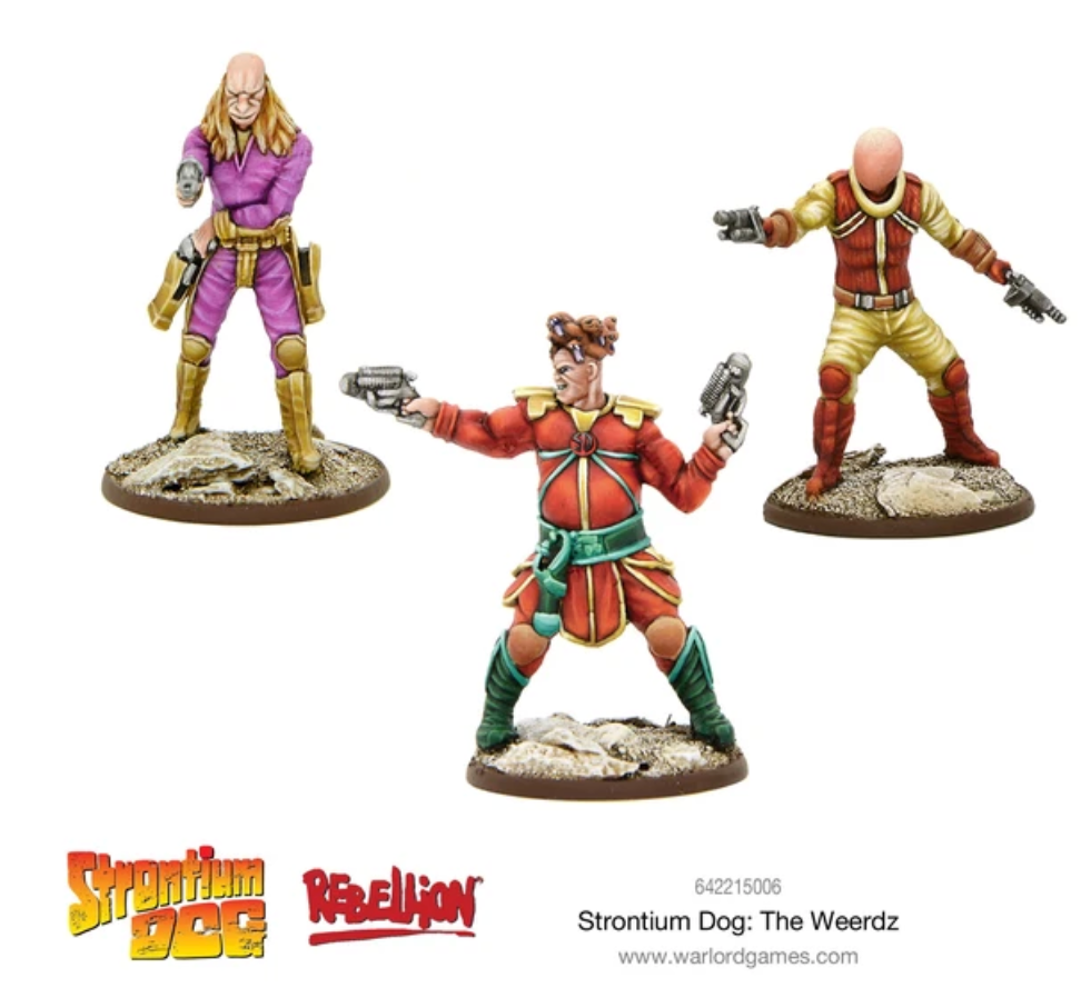 Strontium Dog: The Weerds | Mythicos