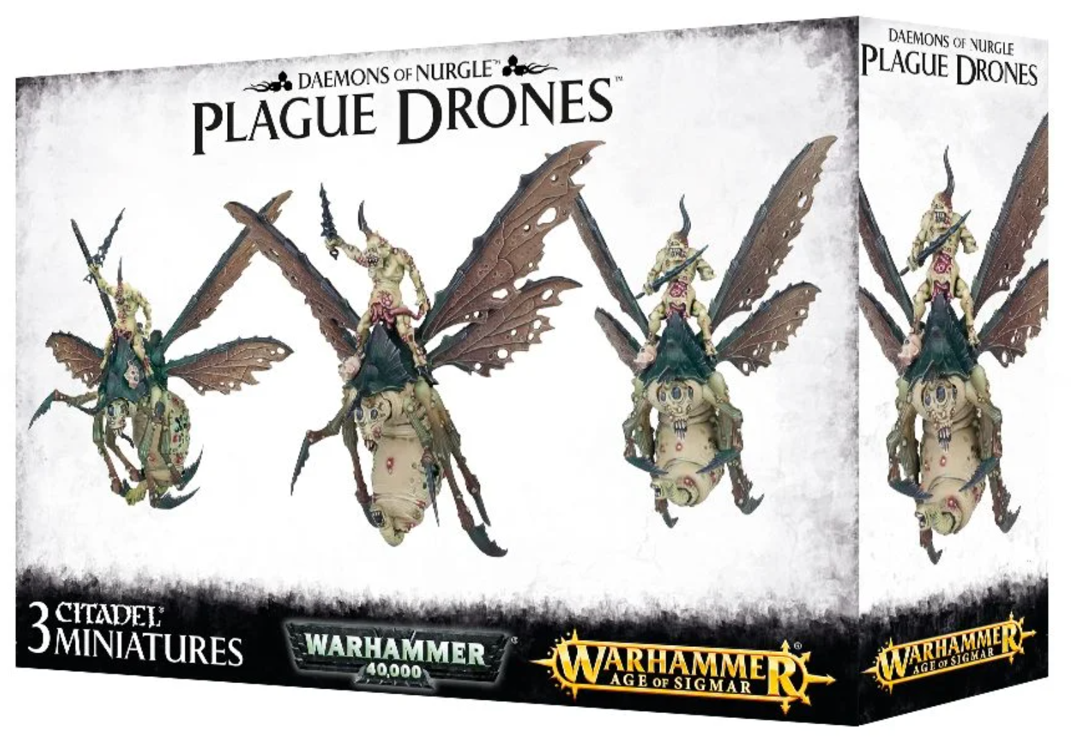 Demons of Nurgle Plague Drones | Mythicos