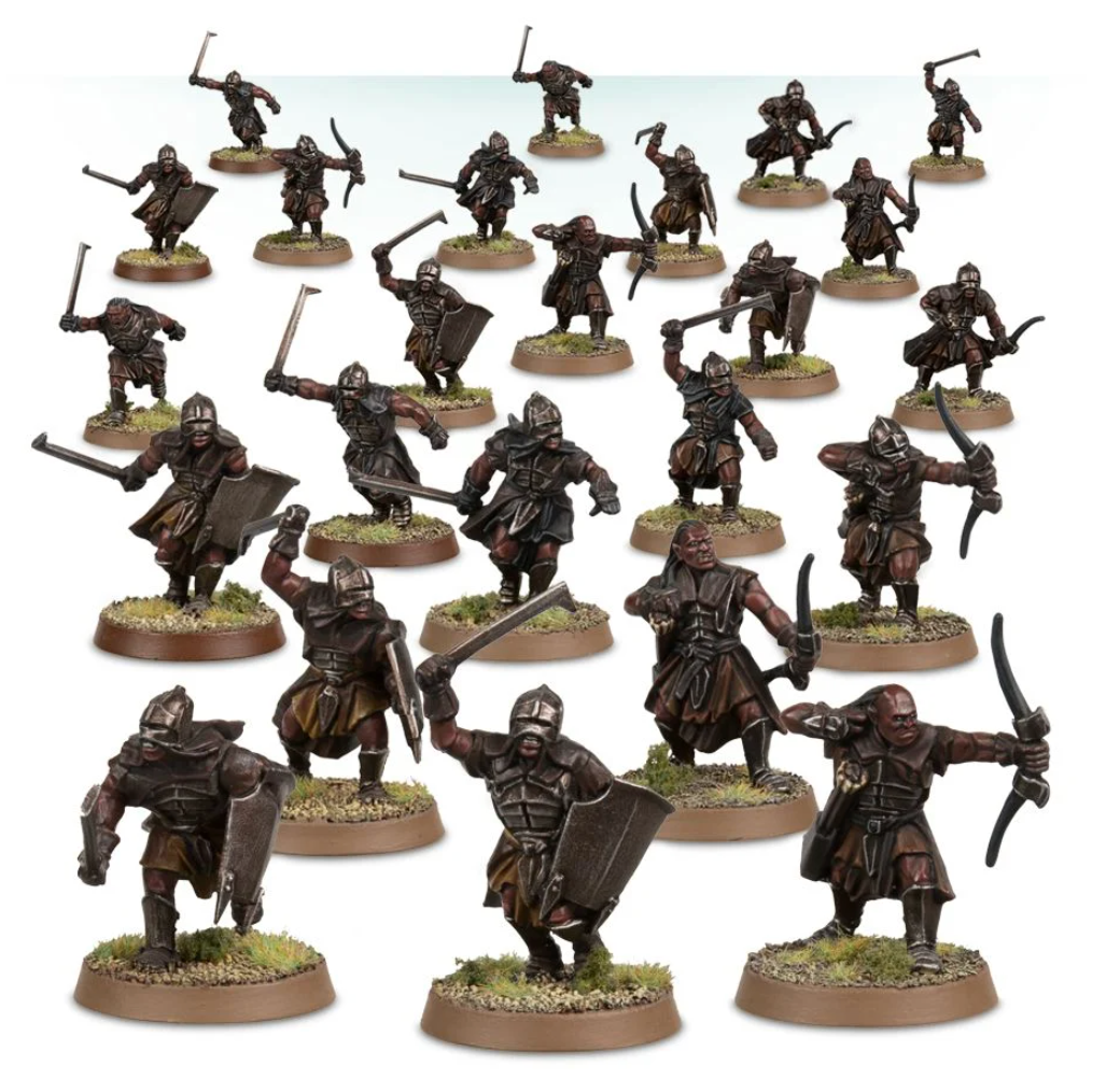 Uruk-Hai Scouts (Middle-Earth Strategy Battle Game) | Mythicos