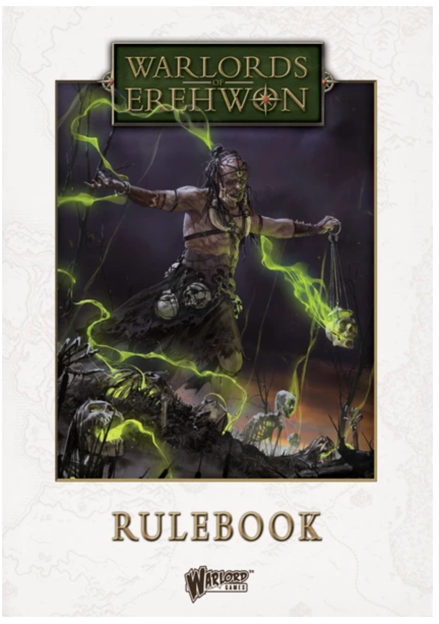 Warlords of Erehwon Rulebook (Hardcover) | Mythicos