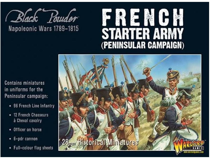 Napoleonic French Starter Army (Black Powder. Peninsular Campaign) | Mythicos