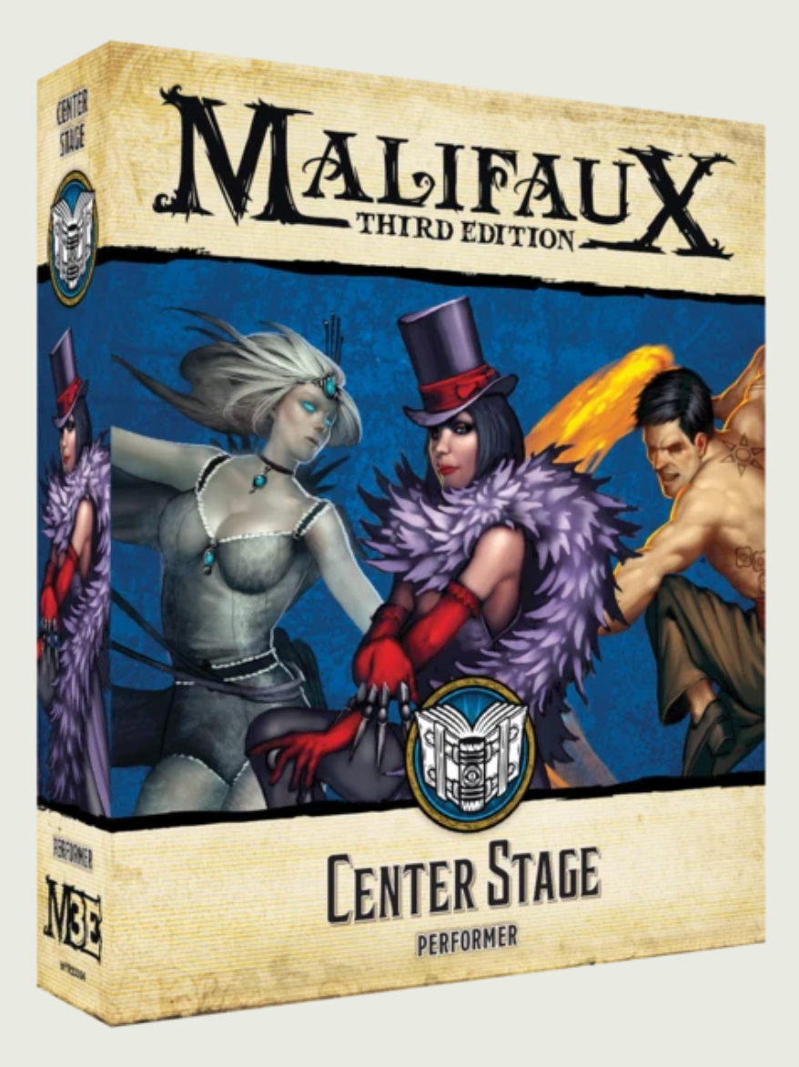Malifaux 3E: Arcanists - Center Stage | Mythicos