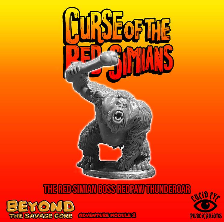 The Red Simian Boss Redpaw Thunderoar (REDSIMB) | Mythicos