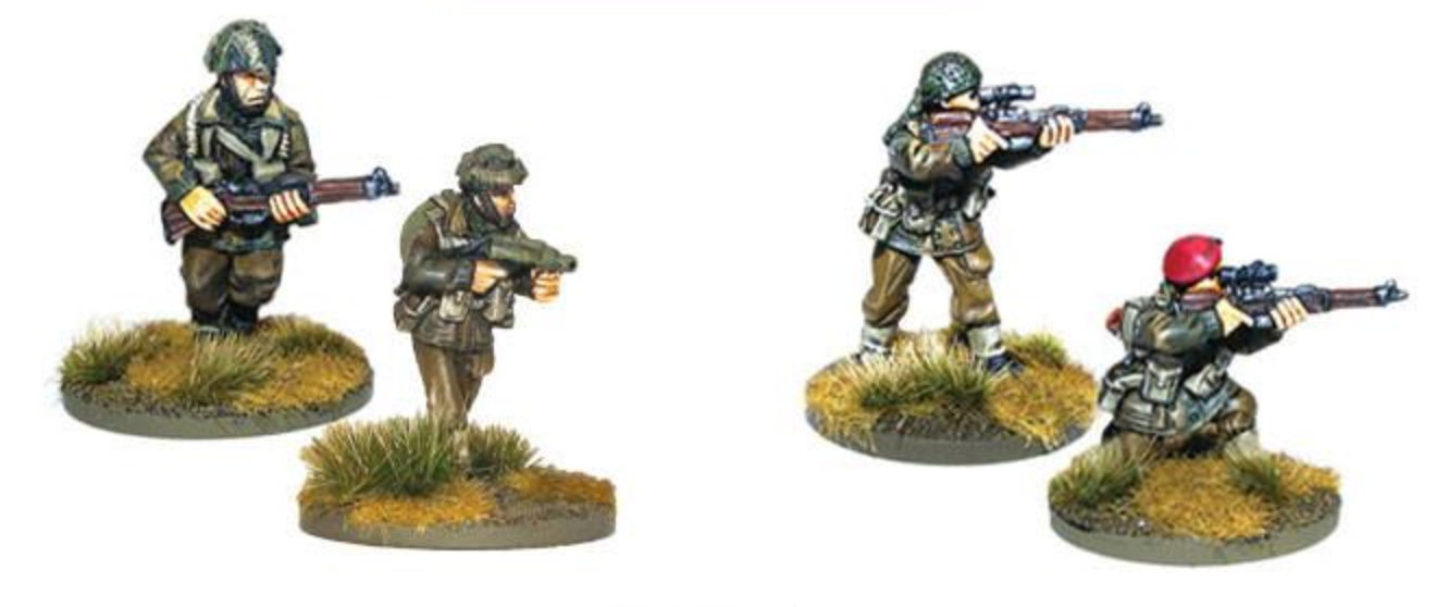 British Airborne Flamethrower and sniper teams | Mythicos