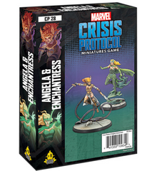 Marvel Crisis Protocol: Angela & Enchantress Character Pack | Mythicos