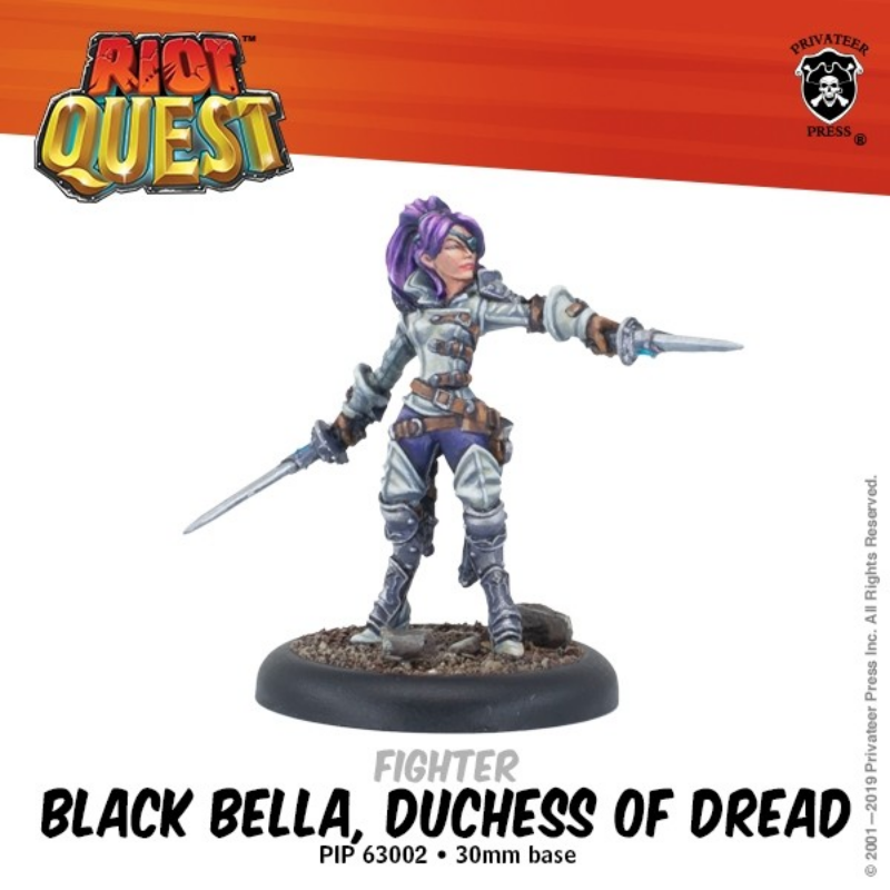Riot Quest Black Bella, Duchess of Dread | Mythicos