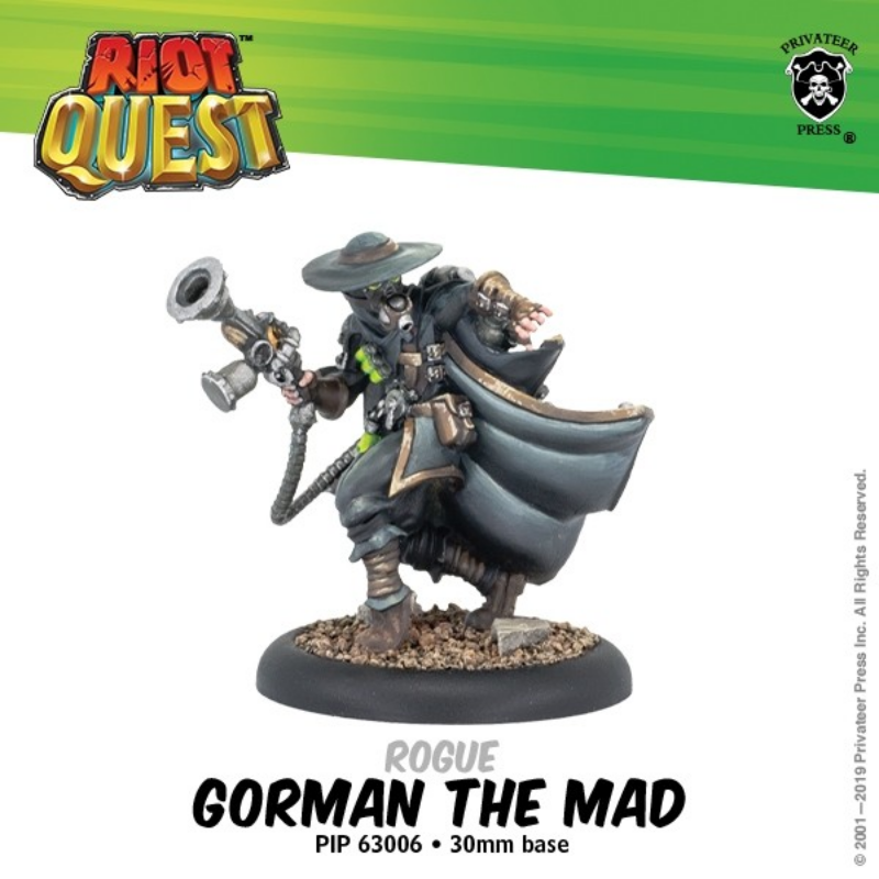 Riot Quest Gorman the Mad | Mythicos