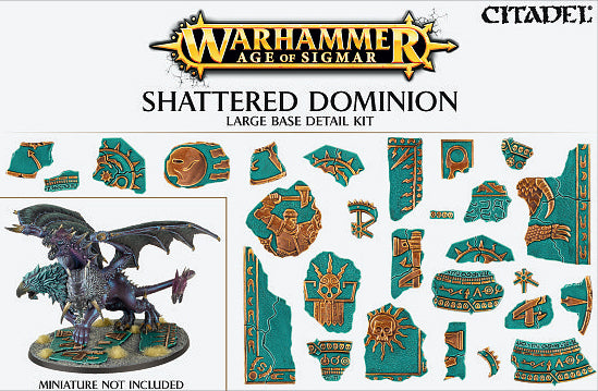 Shattered Dominion Large Detail Base Kit | Mythicos