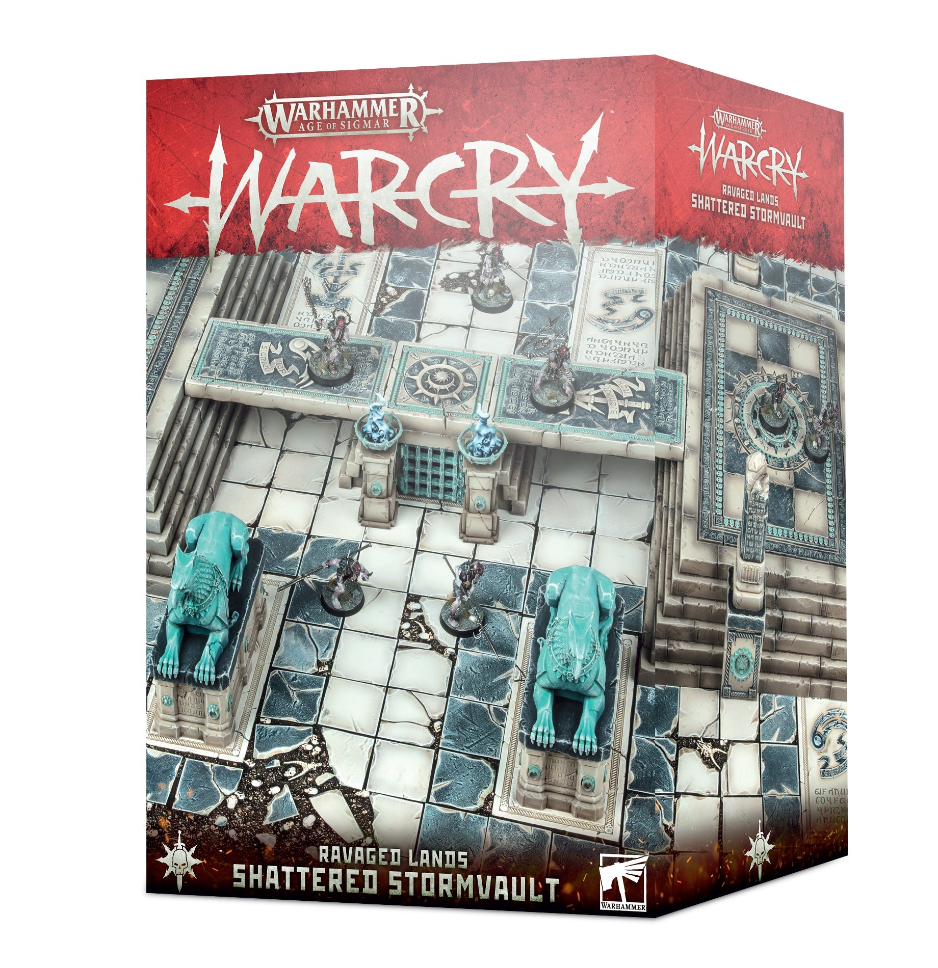 Warcry: Shattered Stormvault | Cascade Games | New Zealand