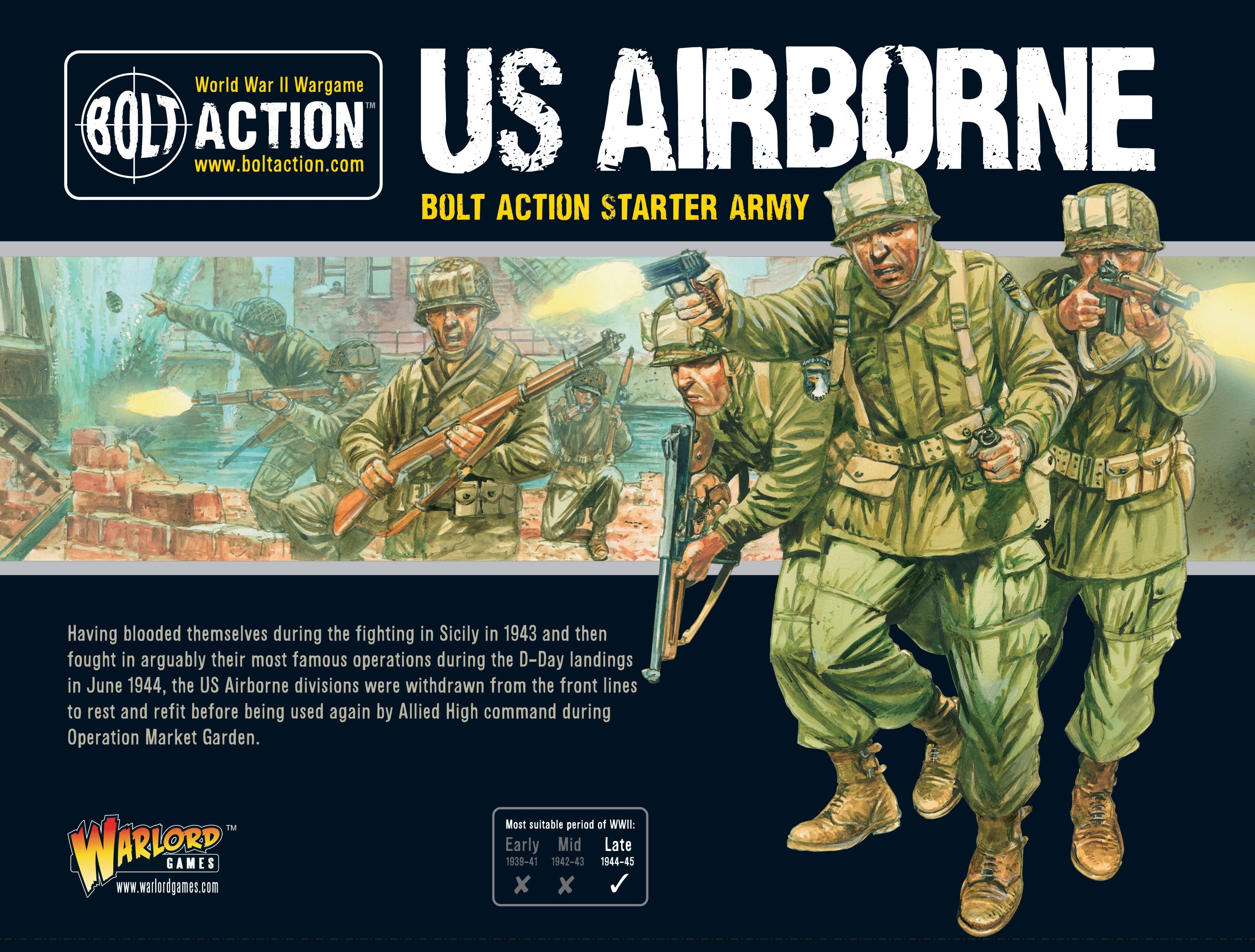 US Airborne Starter Army | Mythicos