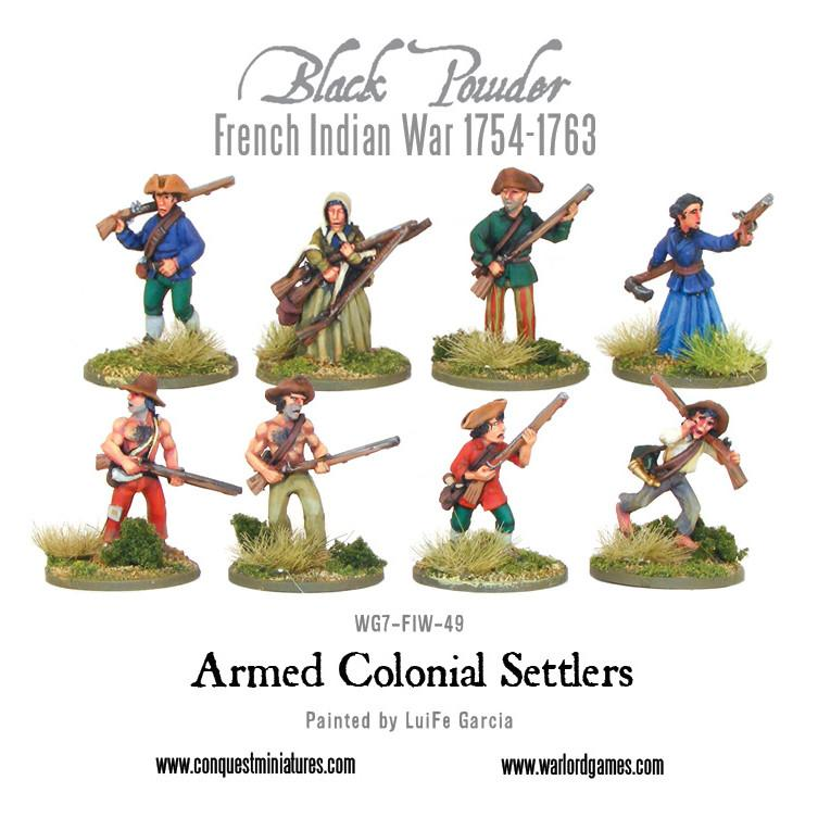 Armed Colonial Settlers | Mythicos