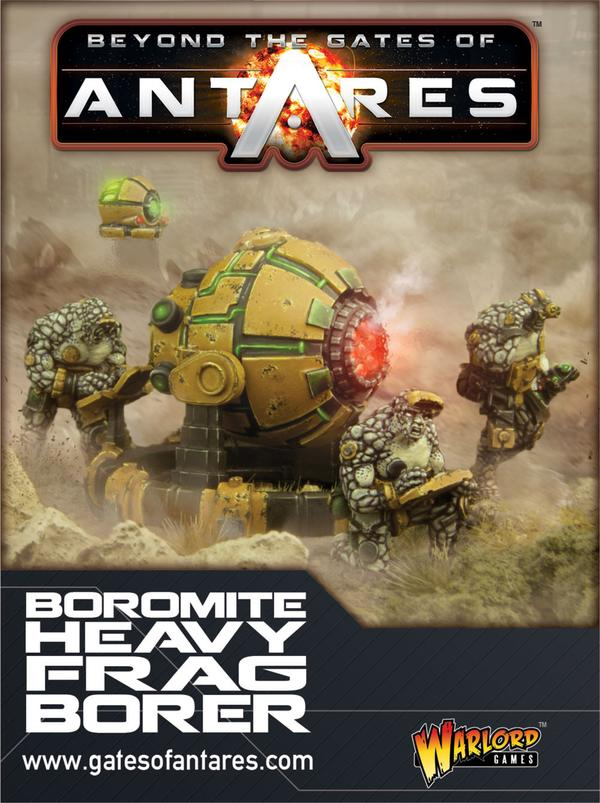 Boromite team with Heavy Frag Borer | Mythicos