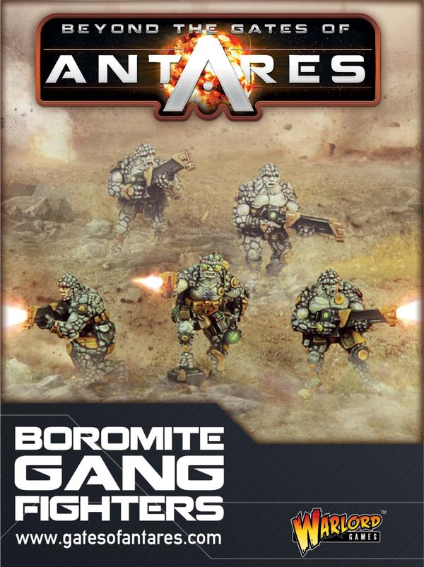 Boromite Gang Fighters | Mythicos