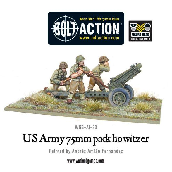 US Army 75mm Pack Howitzer | Mythicos