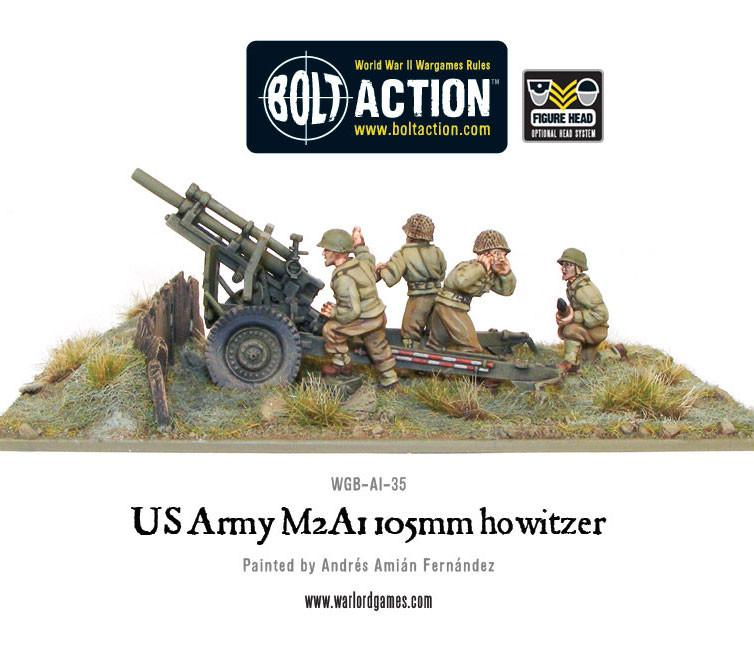 US Army M2A1 105mm Howitzer | Mythicos