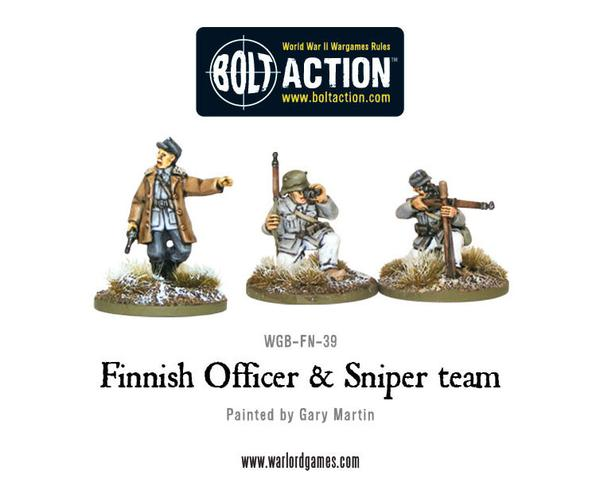 Finnish Officer & Sniper Team Command | Mythicos