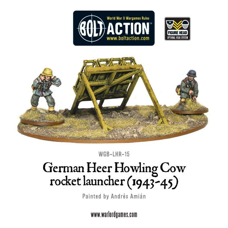 German Heer Howling Cow Rocket Launcher (1943-45) | Mythicos