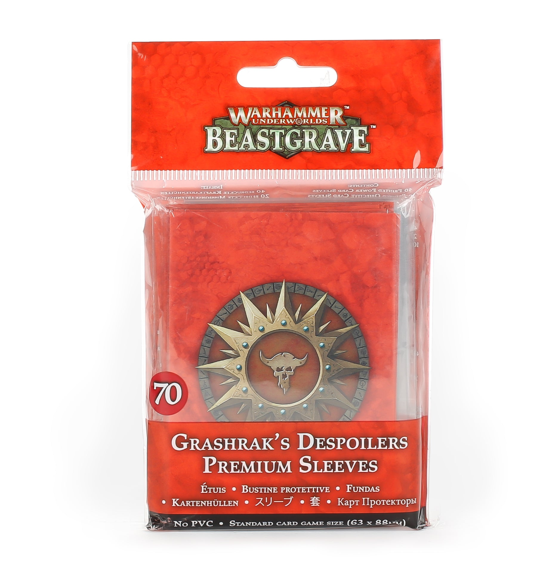Grashrak's Despoilers Sleeves | Mythicos