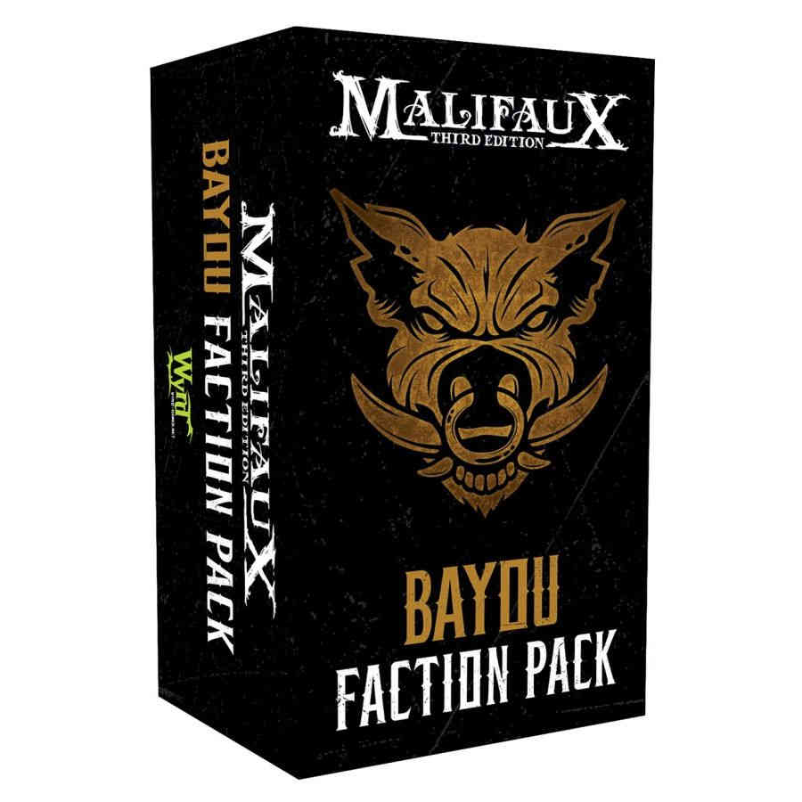 MalifauX 3rd Edition - Bayou Faction Pack | Mythicos