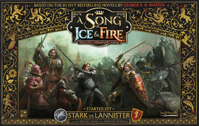 Song of Ice and Fire Starter Set (Stark vs. Lannister) | Mythicos