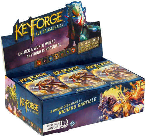 KeyForge: Age of Ascension Display (Booster Box) | Mythicos