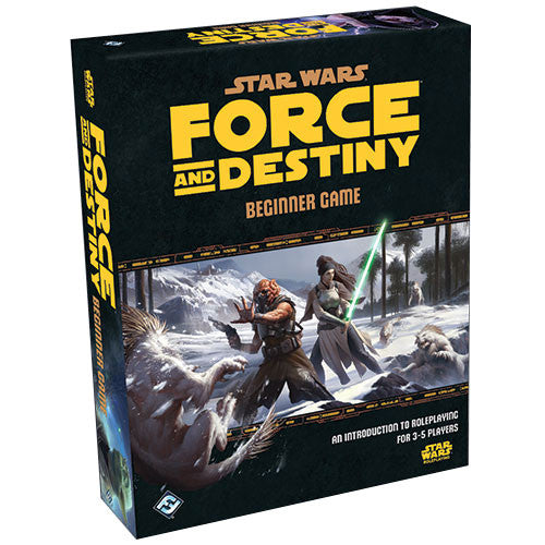 Star Wars: Force and Destiny Beginner Game | Mythicos