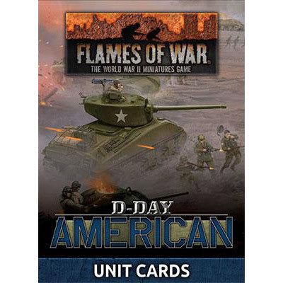 Flames of War: WW2 - D-Day American Unit Cards | Mythicos