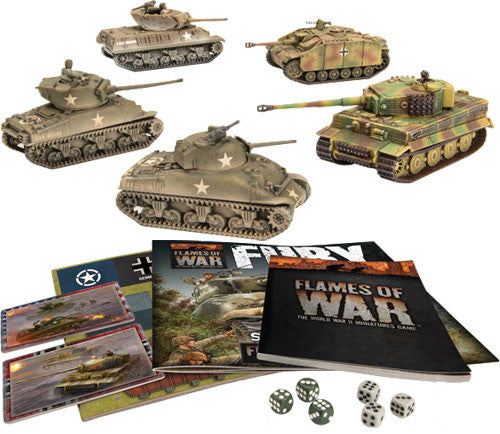 Flames of War: Fury Starter Set | Mythicos