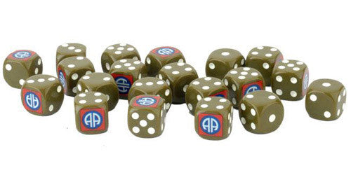 Flames of War: WW2 - 82nd Airborne Division Dice Set | Mythicos