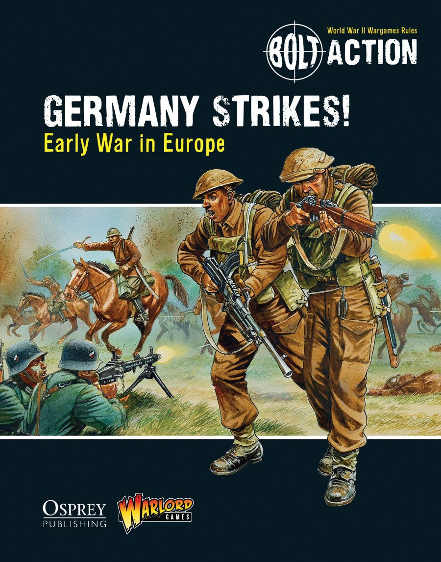 Germany Strikes!: Early War in Europe - Bolt Action Theatre Book | Mythicos