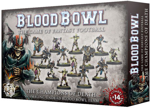 The Champion's of Death - Shambling Undead Blood Bowl Team | Mythicos