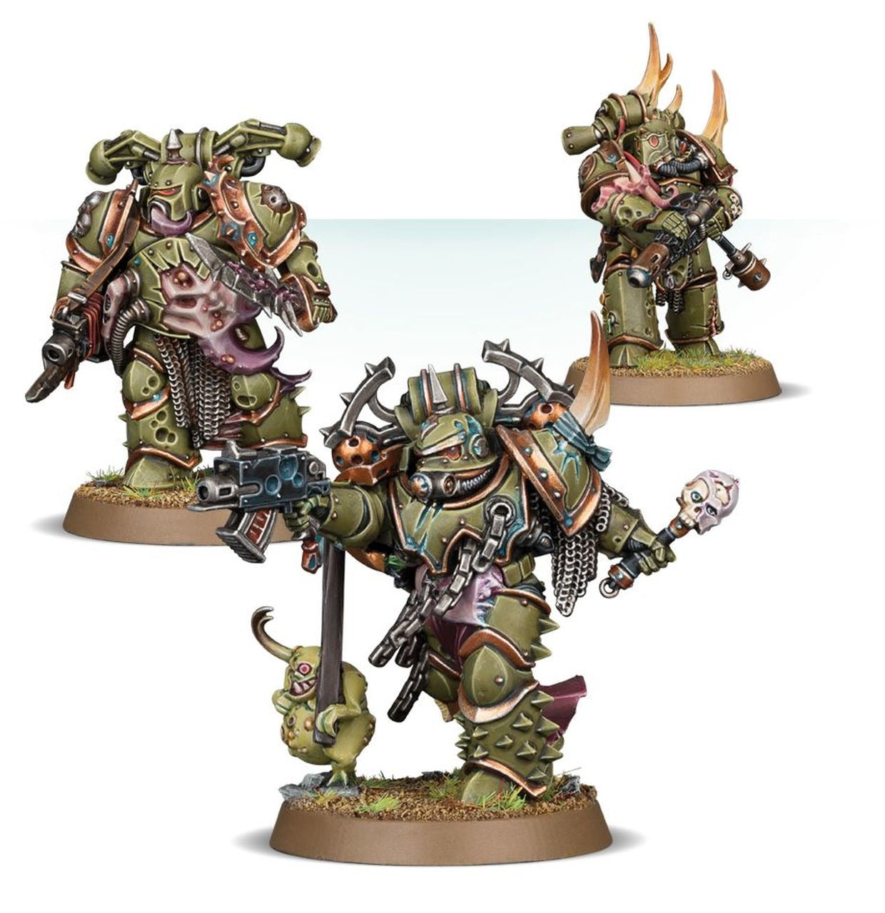 Plague Marine Reinforcements | Mythicos