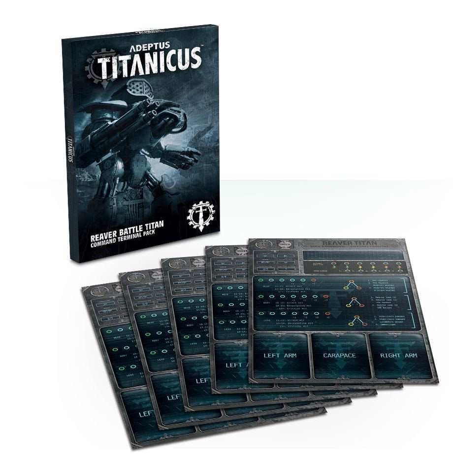 Reaver Battle Titan Command Terminal Pack | Mythicos