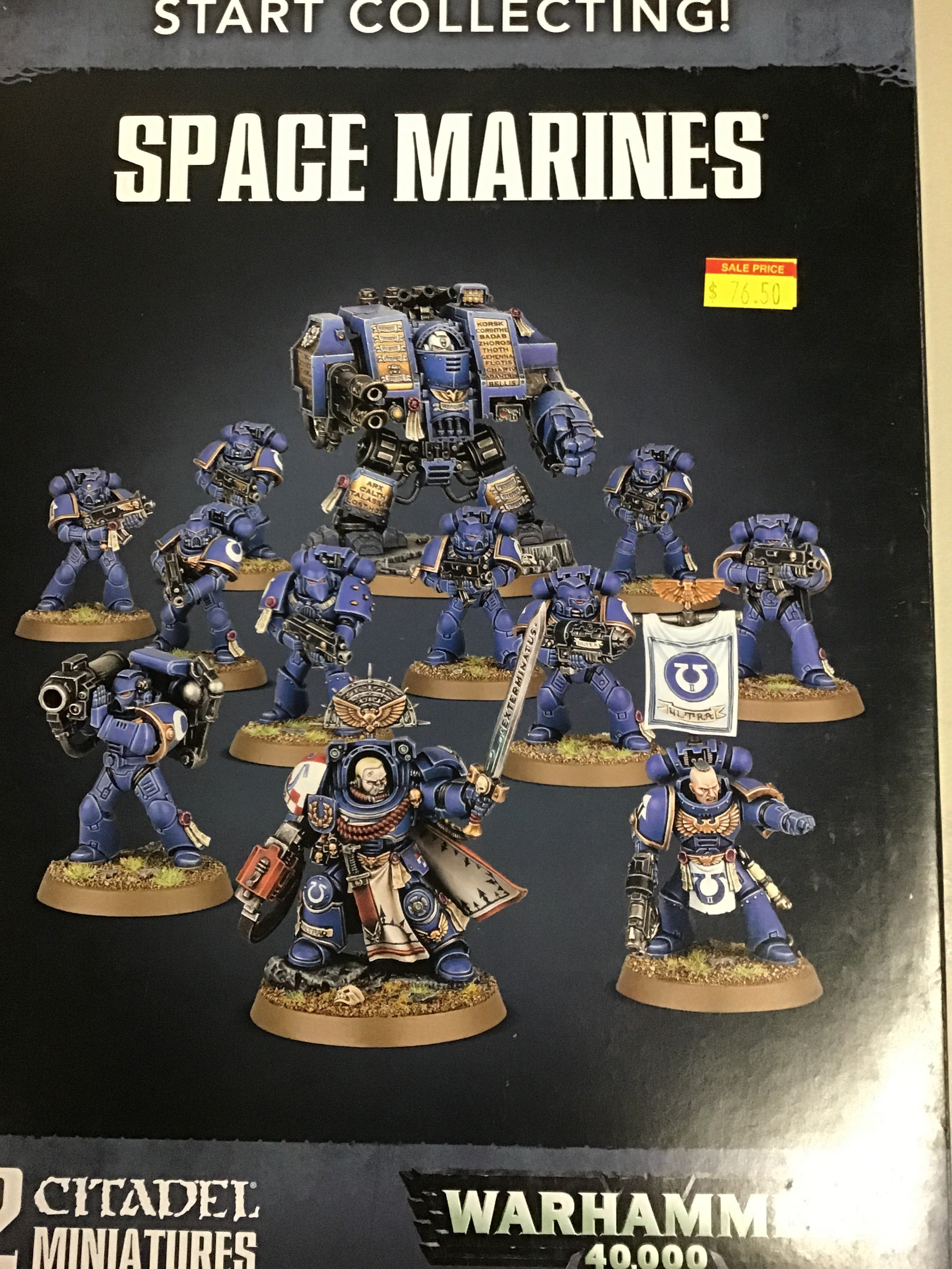 Start Collecting! Space Marines | Mythicos