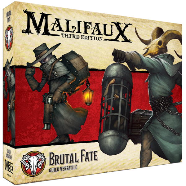 Malifaux Third Edition Brutal Fate / Guild Versatile | Mythicos