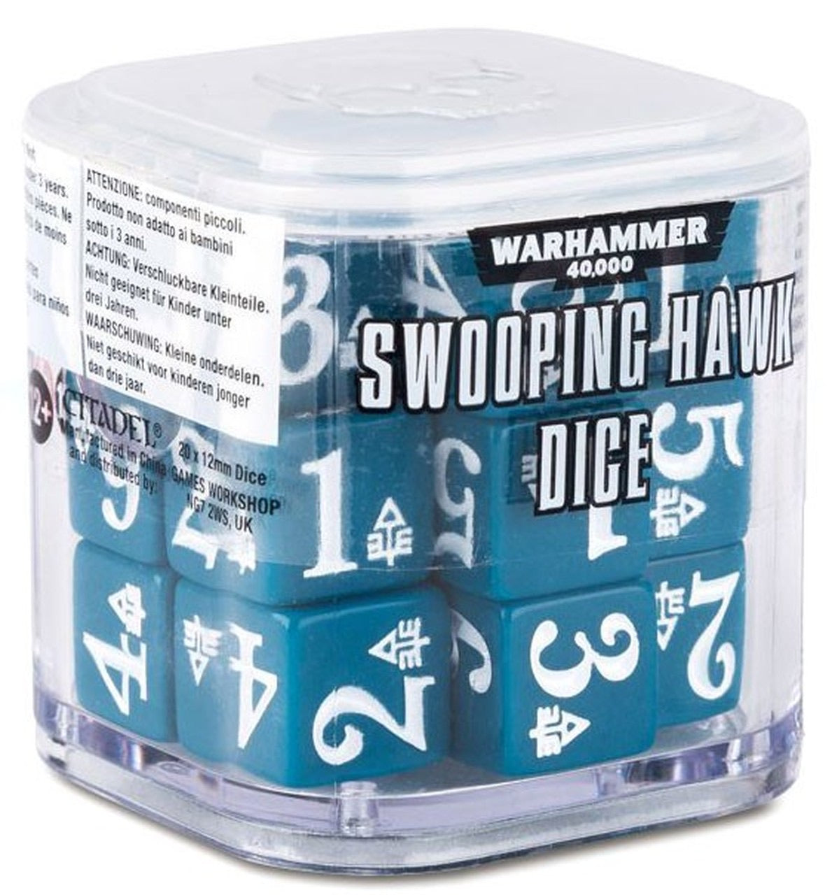 Swooping Hawk Dice Set (Out of Print) | Mythicos