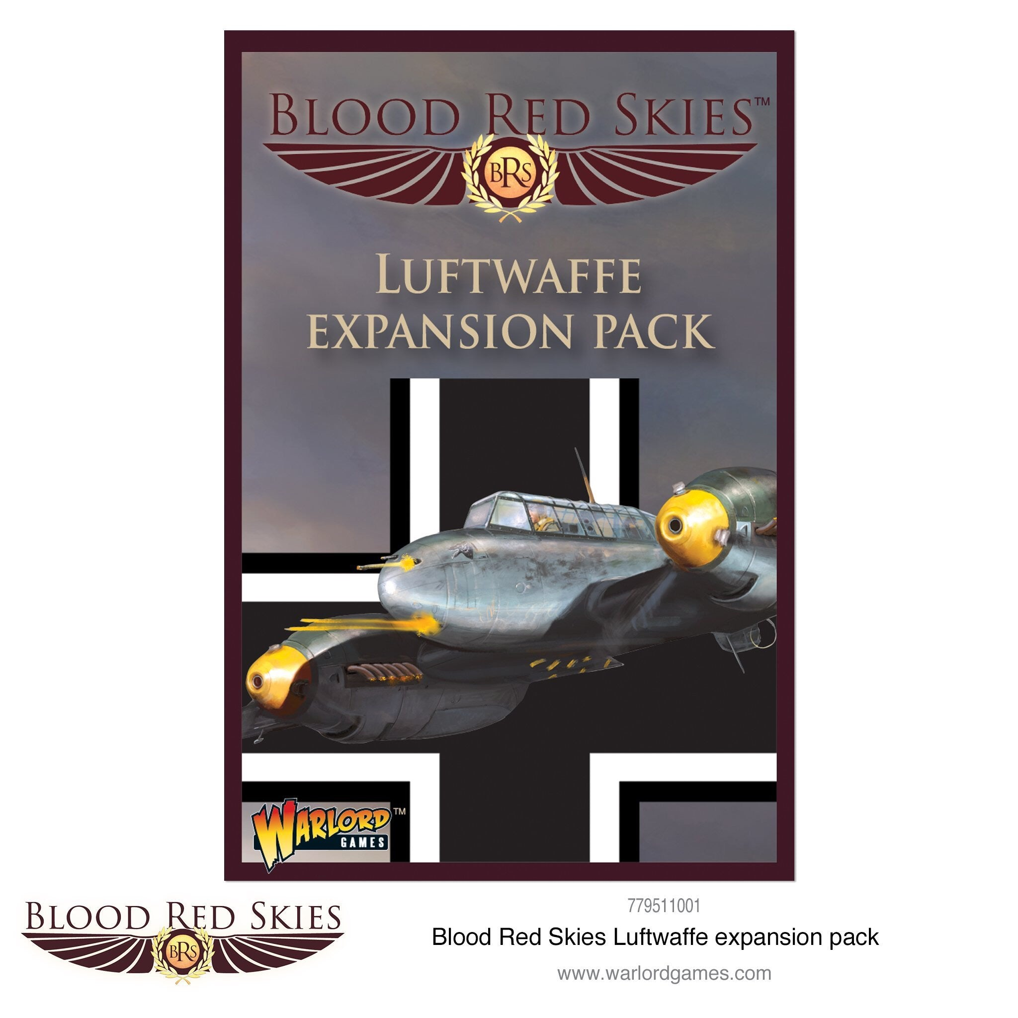 Blood Red Skies Luftwaffe Expansion Pack | Mythicos