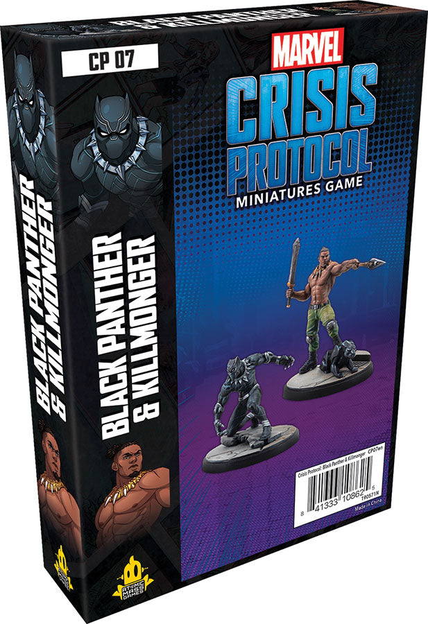 Black Panther and Killmonger Character Pack (Crisis Protocol) – Mythicos