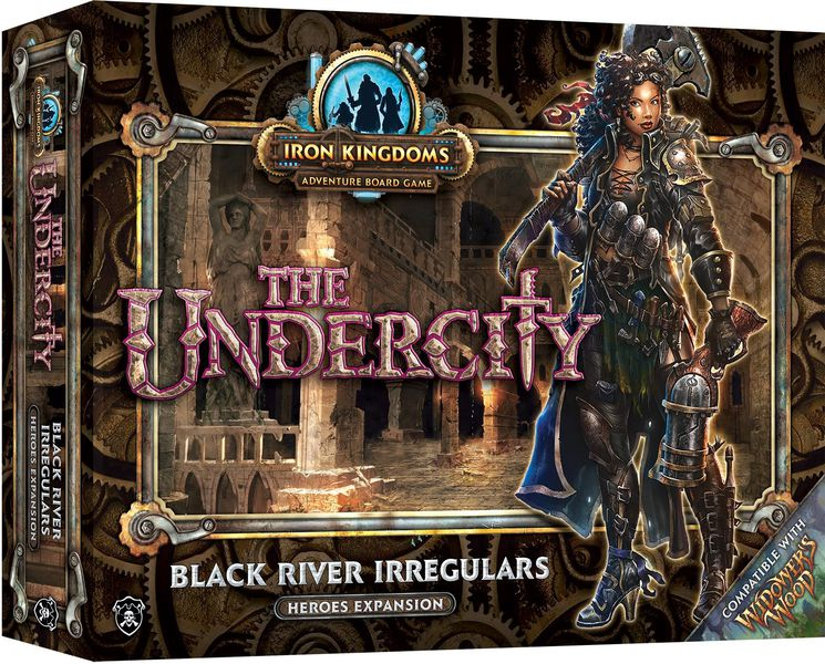 The Undercity: Black River Irregulars Heroes Expansion | Mythicos