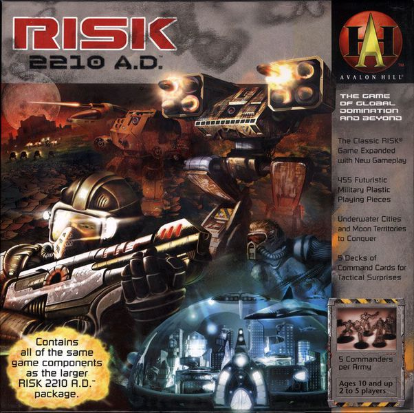 Risk 2210 A.D. | Mythicos