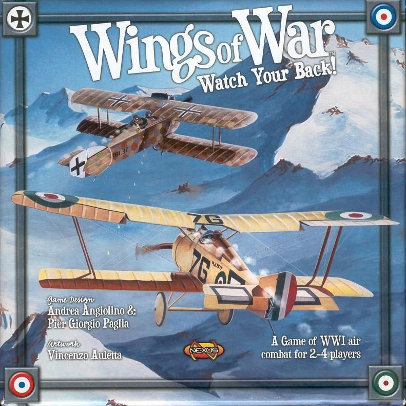 Wings of War: Watch Your Back! | Mythicos