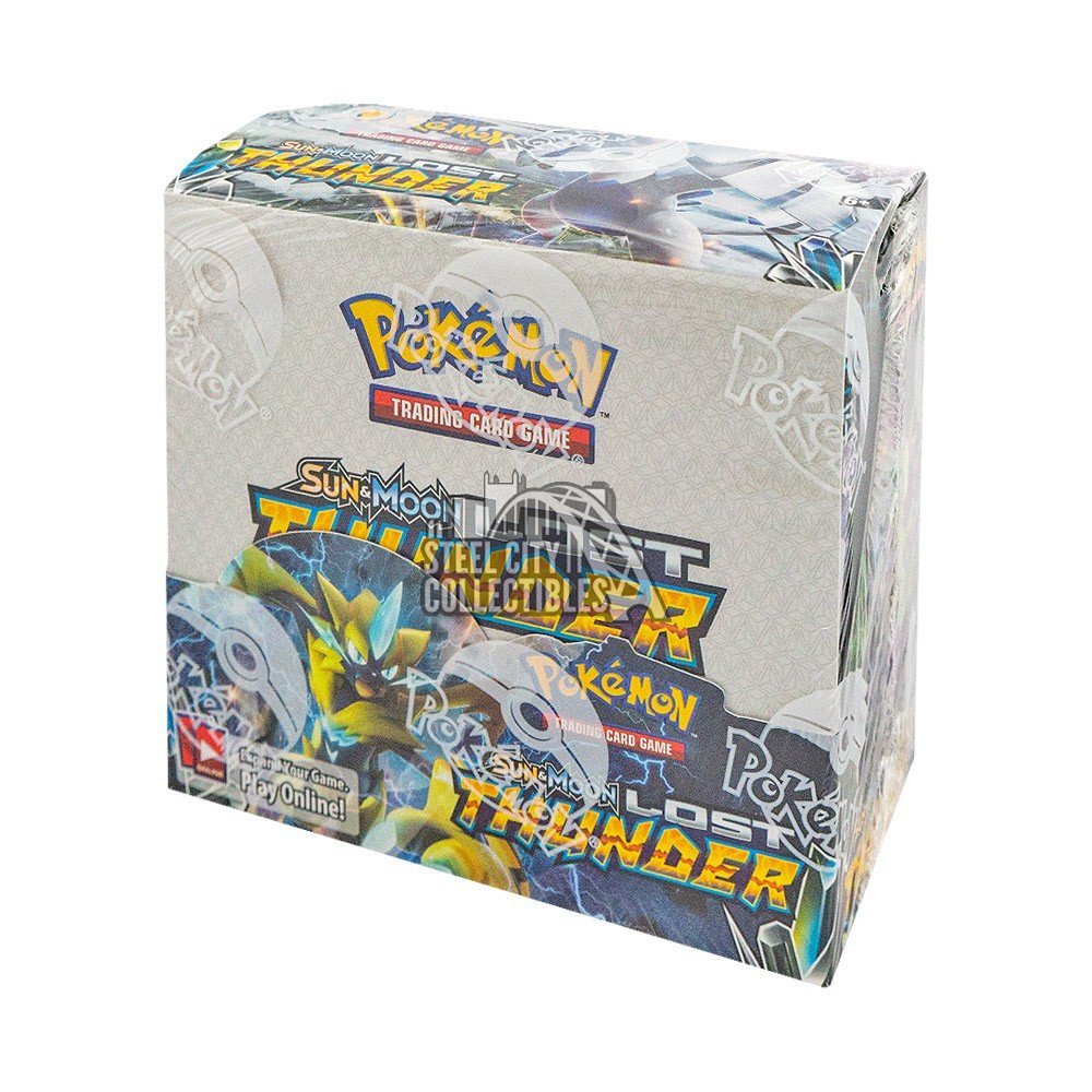 Pokémon Sun & Moon Lost Thunder (Booster Box) | Mythicos