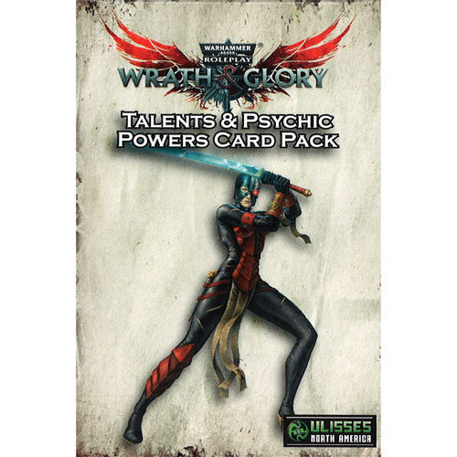 Warhammer 40K RPG Wrath & Glory: Talents & Psychic Powers Card Pack | Mythicos