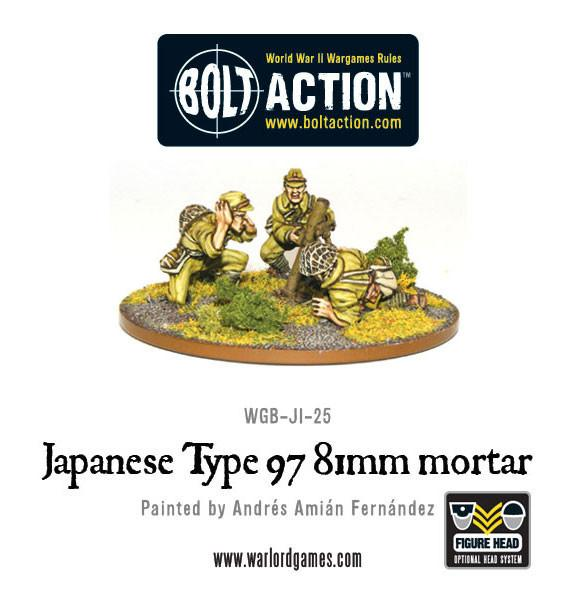 Imperial Japanese Army 81mm Mortar Team | Mythicos